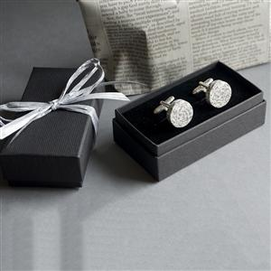 Personalised Recycled Paper Cuff Links