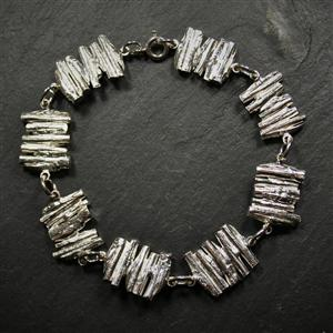 Stacked Cast Willow Bracelet