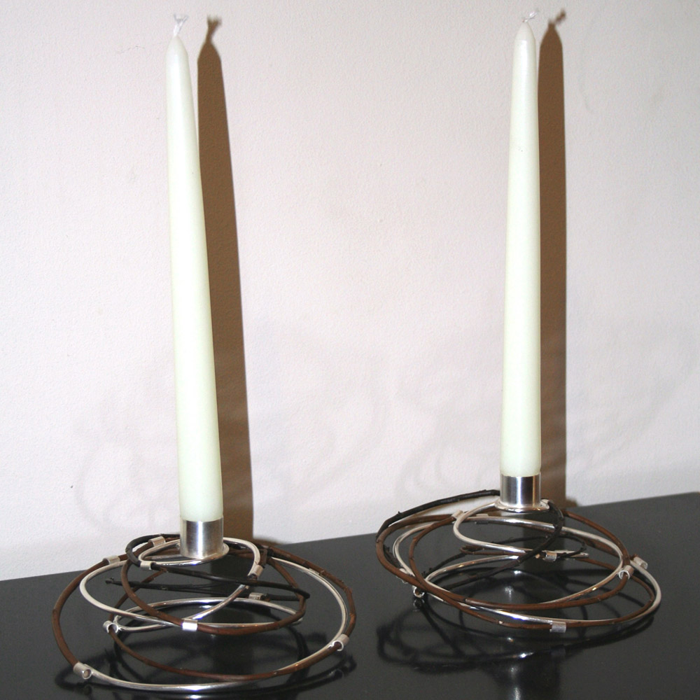 Silver and willow table candle holders gift ideas mygiftgenie
