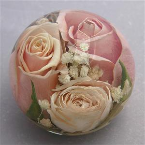 Somerton Lavish Mixed Luxury Flower Paperweight