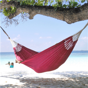 Knit Single Hammock - Fuschia
