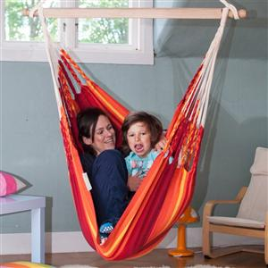 Iguana Hanging Chair - Fire - Small