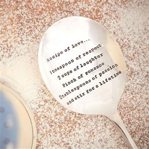 Serving Spoon – 'Recipe Of Love…