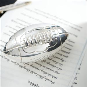 Rugby Ball Paperweight