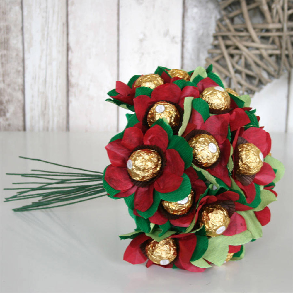 The edible posie anniversary gifts paper flowers izmirmasajfo Images