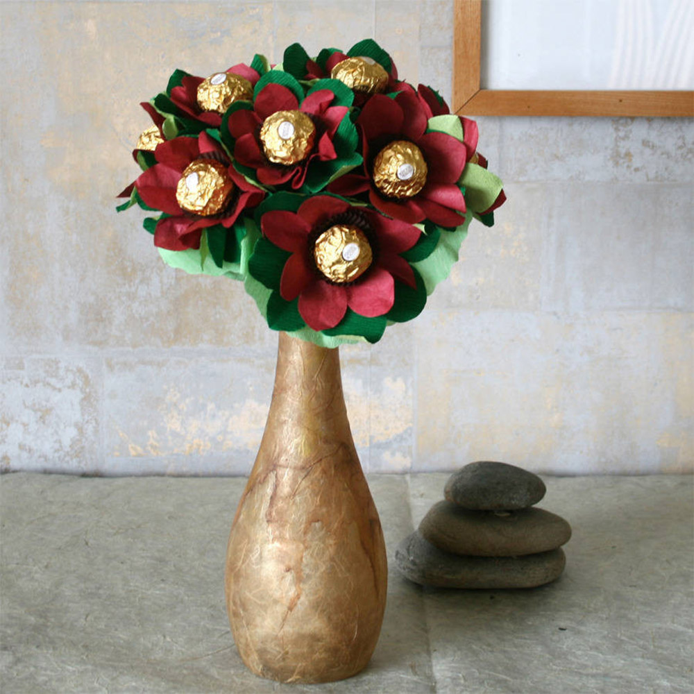 The edible posie anniversary gifts paper flowers 1 izmirmasajfo
