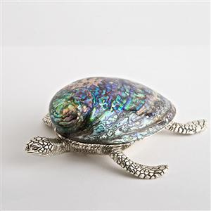 Georgina Swimming Turtle Paperweight