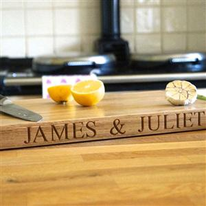 Personalised Wooden Chopping Board - Large