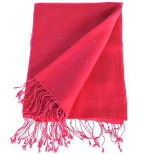 100% Cashmere Pashmina with Crystals