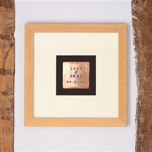 Personalised Copper Print