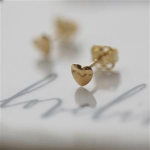 Teeny Tiny Heart Earrings