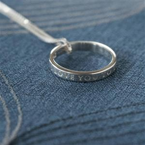 Moon & Back Ring Necklace