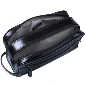 Classic Leather Wash Bag