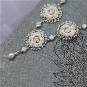 Anemone Lace Necklace