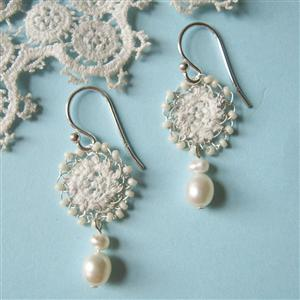 Clara Lace Earrings