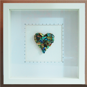Box Frame - Single Heart