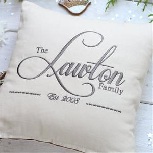 Personalised Cotton Cushion