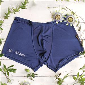 Personalised Silk Boxer Shorts | Gifts For Him | 12th Anniversary Gift