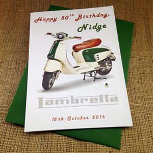 Lambretta Card for Him