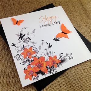 Personalised Tiger Lily Card for Her