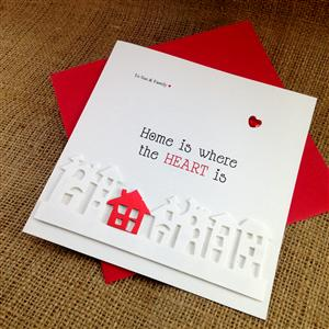 Little Red House Card | Moving House Cards | MyGiftGenie