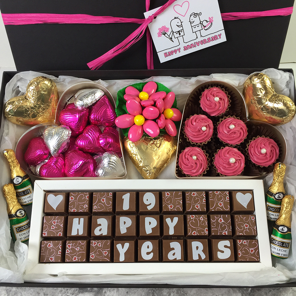 Gifts For 19th Wedding Anniversary: 19th Anniversary Chocolates