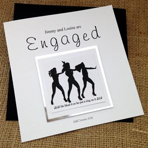 Put a Ring on it Engagement Card | Personalised Cards | MyGiftGenie