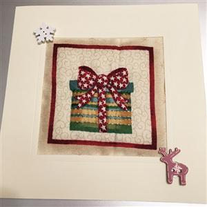 Christmas Gift Quilted Card