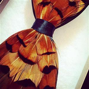 The Charlie Bow Tie | Feather Gifts | MyGiftGenie