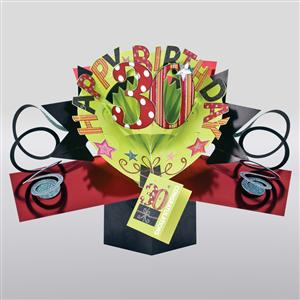 30th Birthday Popup 3D Card | MyGiftGenie