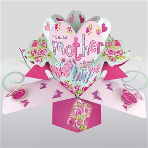 Best Mother 3D Popup Card | Mothers Day | MyGiftGenie