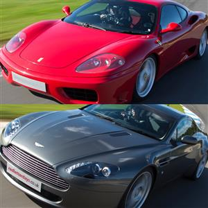 Ferrari versus Aston Martin at Famous Circuits