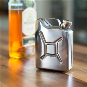 Steel Jerry Can Hipflask