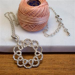 Corona Lace Necklace | 13th Anniversary | MyGiftGenie