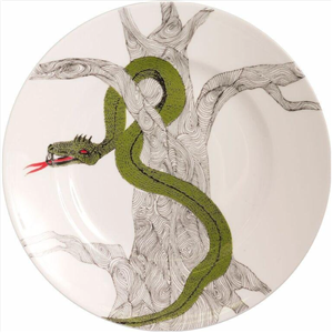 The Serpent wall hanging plate | 20th wedding anniversary | MyGiftGenie