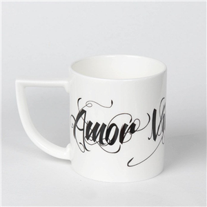 Amor Vincit Omnia mug | 20th wedding anniversary | MyGiftGenie