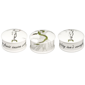 Adam and Eve Bone China Trinket Boxes | 20th wedding anniversary | MyGiftGenie