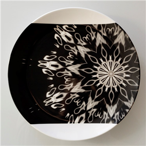 Fine Bone China Plate - Lace Remix 1
