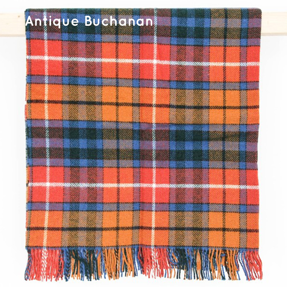 Wool Wedding Anniversary Gifts: Tartan Wool Picnic Blanket