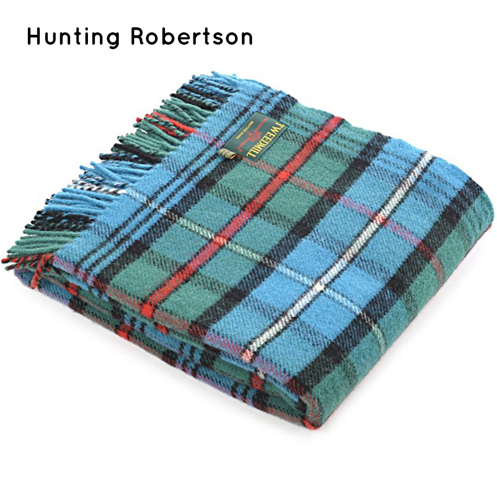 Wool Wedding Anniversary Gifts: Tartan Wool Picnic Blanket 150x180