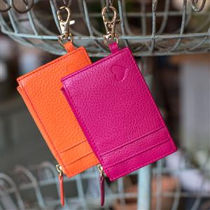 Love Zipped Cardholder | Leather Gifts | MyGiftGenie