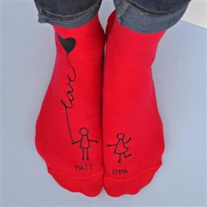 Personalised Socks - Me And You