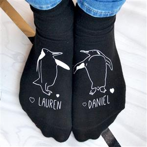 Personalised Animal Socks | Anniversary Gift | MyGiftGenie