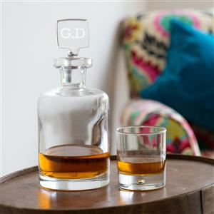 Personalised Glass Decanter | Gifts for Men | MyGiftGenie