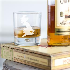 Home Is Where The Heart Is Whisky Glass | MyGiftGenie