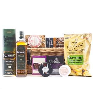 Bushmills Whiskey Hamper Premium | Luxury Hampers | MyGiftGenie