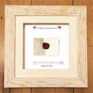 Personalised Cotton Print | 16th anniversary | MyGiftGenie