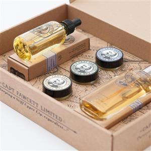 Eau De Parfum, Moustache Wax & Beard Oil Gift Set | Gifts for Men | MyGiftGenie