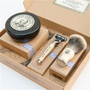 Shaving Brush, Razor and Shaving Soap Gift Set | Gifts for Men | MyGiftGenie