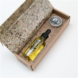 Private Stock Beard Oil & Moustache Wax Gift Set | Gifts for Men | MyGiftGenie
